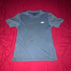 Blue small champion shirt